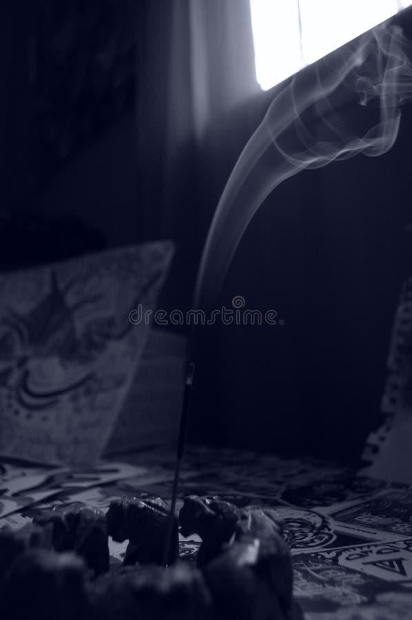 Ладан черно-белый стоковое изображение rf