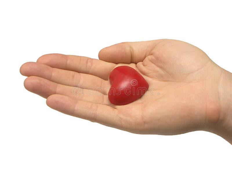 Download ладонь сердца стоковое фото. изображение насчитывающей страсть - 476222