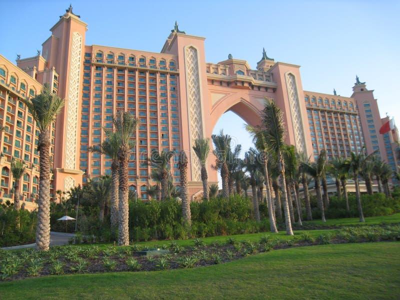 ладонь UAE jumeirah гостиницы Атлантиды Дубай стоковая фотография