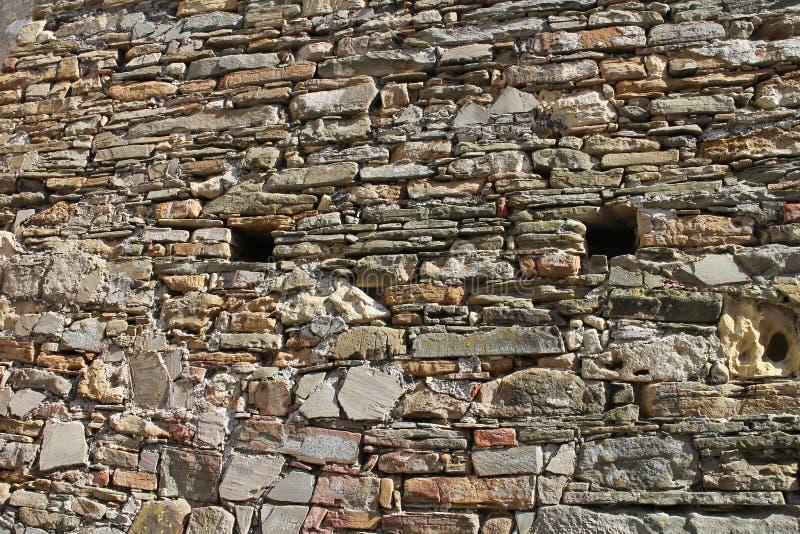 Лазейки в стене  Ãn TreÄ рокируют стоковые изображения