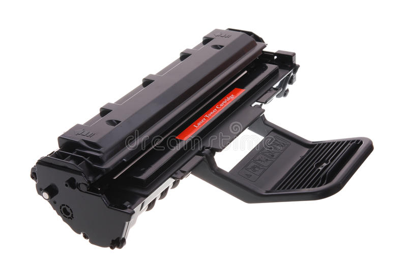 лазерный принтер патрона стоковое фото rf