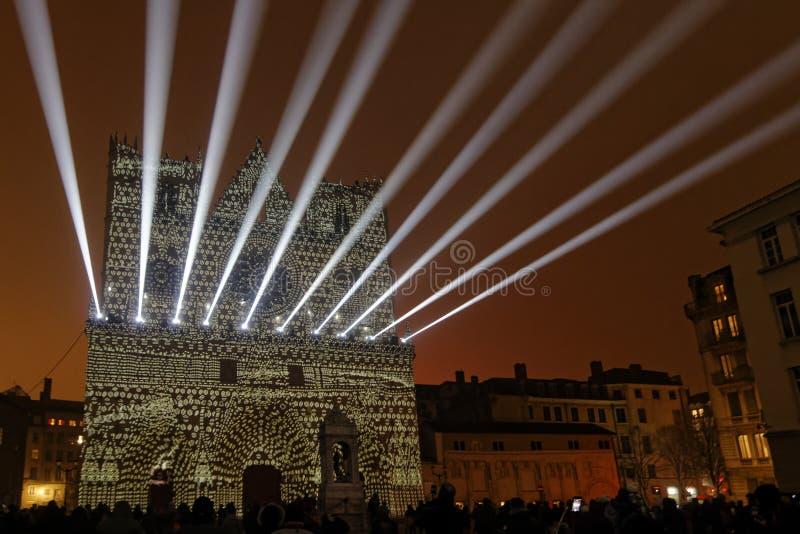 Лазер на соборе стоковые изображения rf