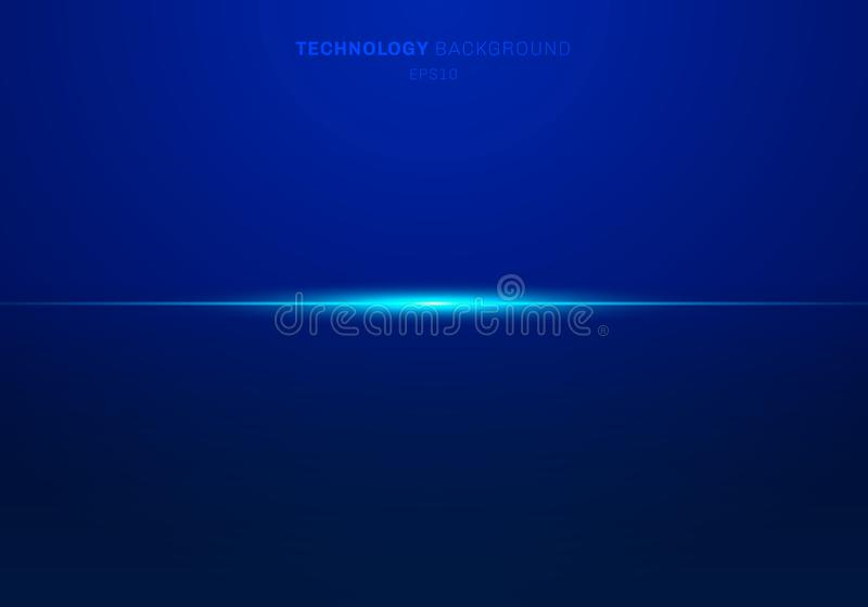 Лазер элементов конспекта голубой светлый выравнивает горизонтальное на темной предпосылке r иллюстрация штока