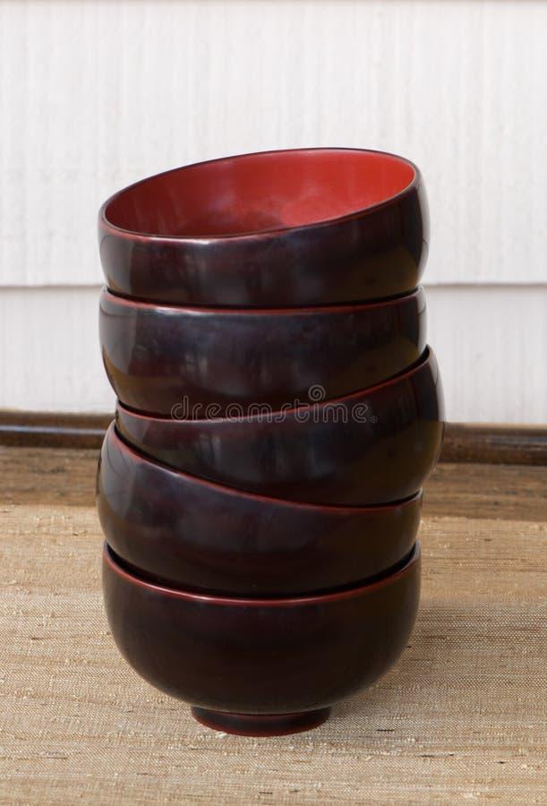 лак японца шаров стоковое фото