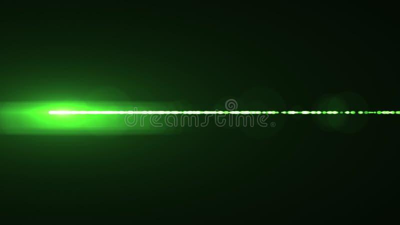 Лампа горизонтальной предпосылки искусства иллюстрации bokeh пирофакелов оптически объектива лазерных лучей сияющей новая качеств иллюстрация вектора