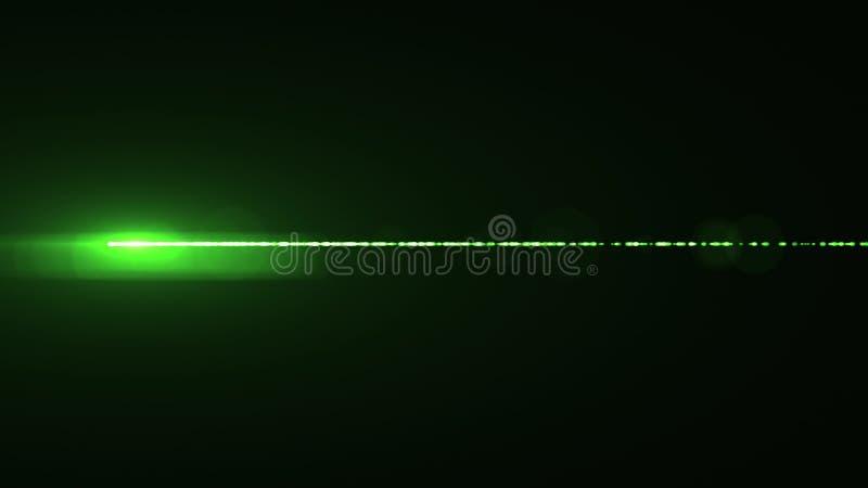 Лампа горизонтальной предпосылки искусства иллюстрации bokeh пирофакелов оптически объектива лазерных лучей сияющей новая качеств иллюстрация штока