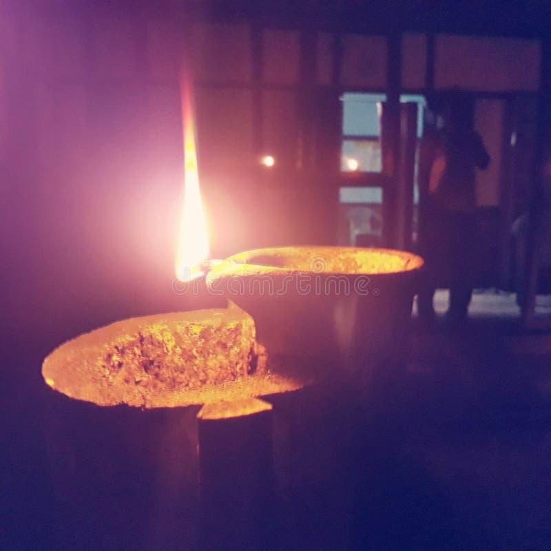 Лампа и фитиль стоковая фотография
