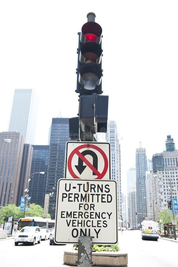 Лампа островка безопасност и знак стоковое изображение rf