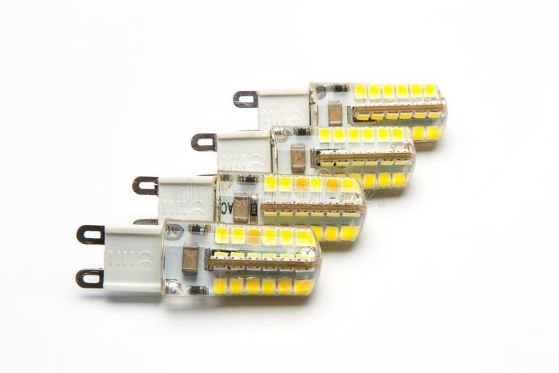 Лампа приведенная g9 стоковое фото rf