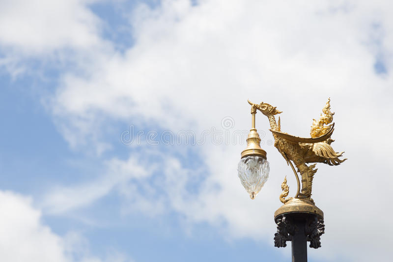 Лампа птицы стоковое фото