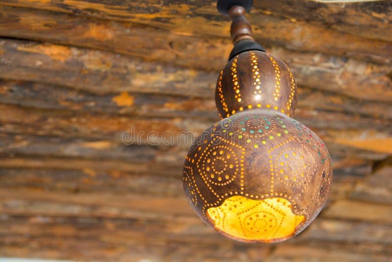 Лампа тыквы воды стоковые изображения rf