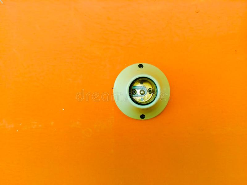 Лампа электрического гнезда стоковая фотография