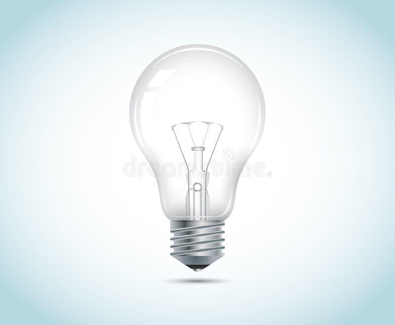 Лампочка иллюстрация штока
