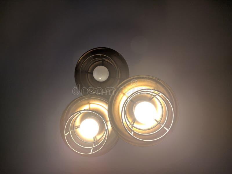 Лампочки стоковое изображение