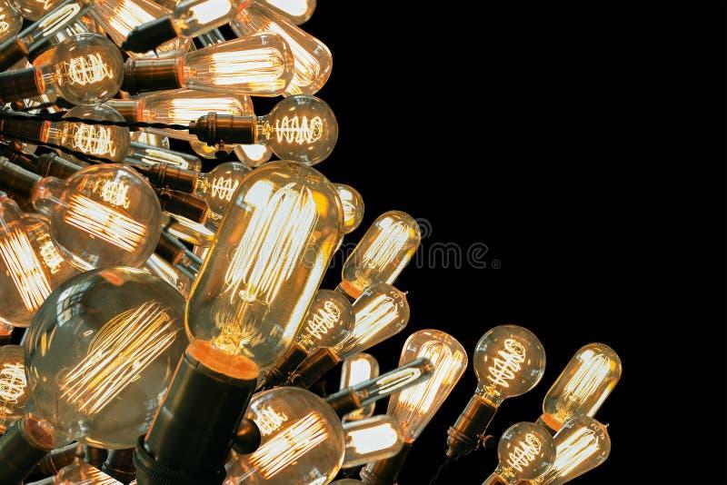 Лампочки Edison стоковые фотографии rf