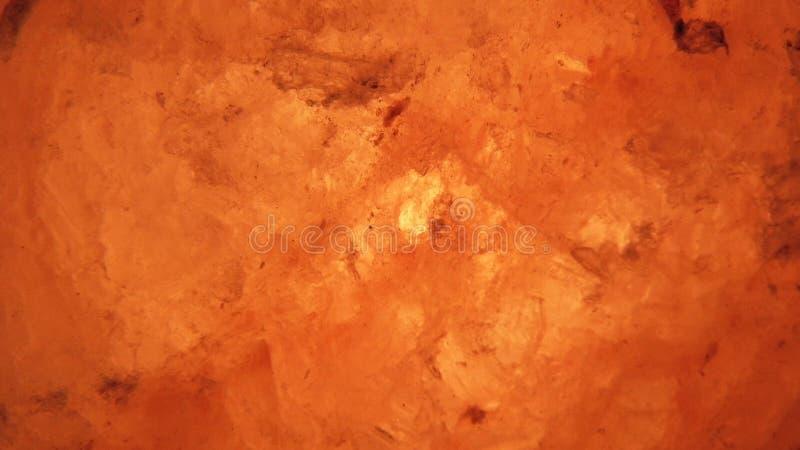 Лампы каменной соли фото включенные от конца вверх стоковая фотография rf