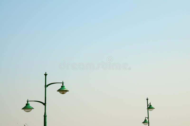 Лампы на небе стоковая фотография rf