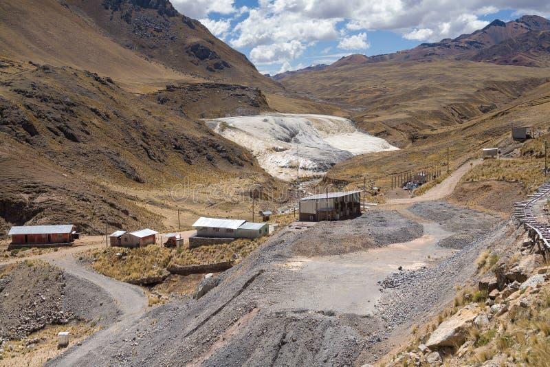 Ландшафты в Перу стоковые изображения