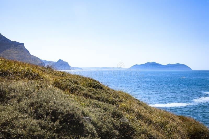 Ландшафты зоны Castro Urdiales стоковая фотография rf