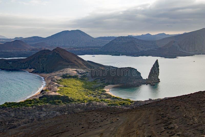 Ландшафты и живая природа островов Галапагос стоковое фото rf