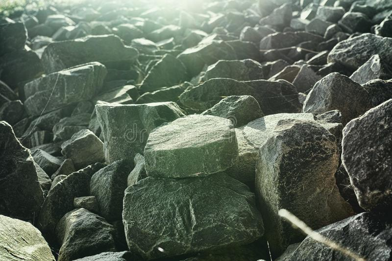 Ландшафты Мангейма трясут диез предпосылки камней грубый стоковые изображения