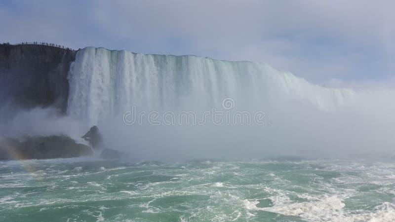 Ландшафты Ниагарский Водопад водопадов, Торонто стоковые фотографии rf