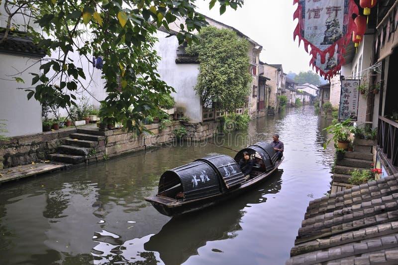 ландшафты фарфора shaoxing село стоковая фотография rf
