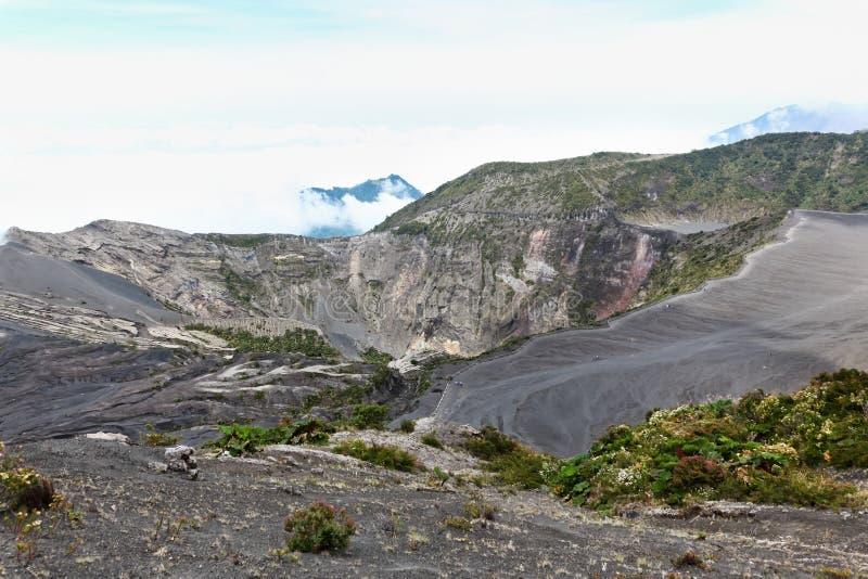 Ландшафт вулкана Irazu стоковые фото