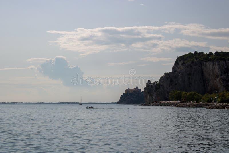 Ландшафт в Sistiana стоковая фотография rf