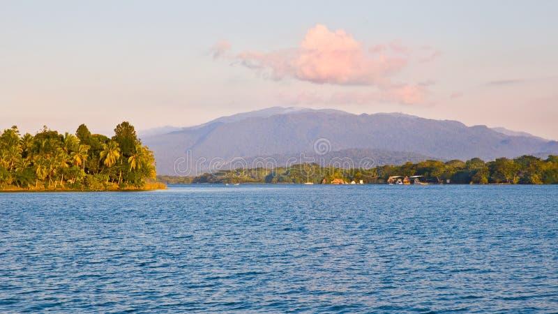 ландшафт Гватемалы тропический стоковая фотография rf