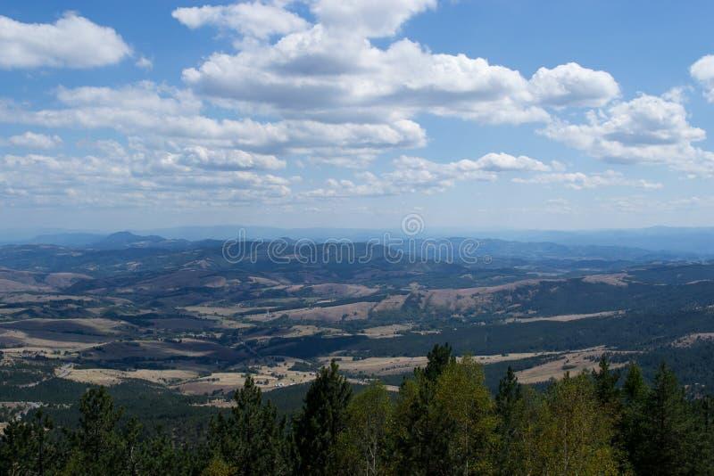 Ландшафт горы Divcibare стоковая фотография rf