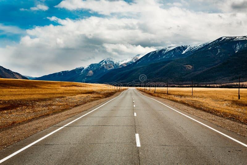 Ландшафт гор в Altai стоковое фото