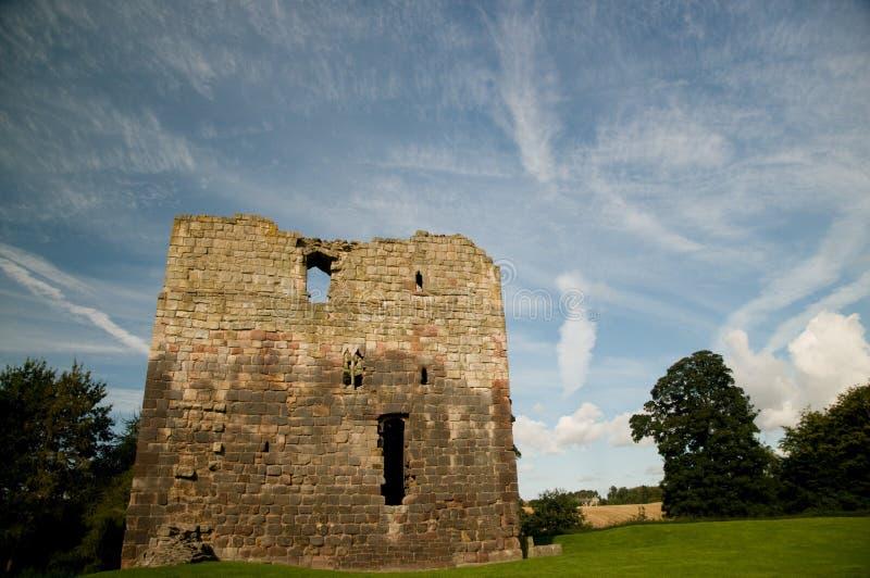 ландшафт замока стоковая фотография rf