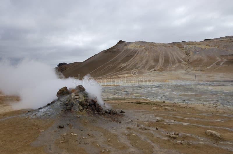 ландшафт Исландии вулканический стоковое фото rf
