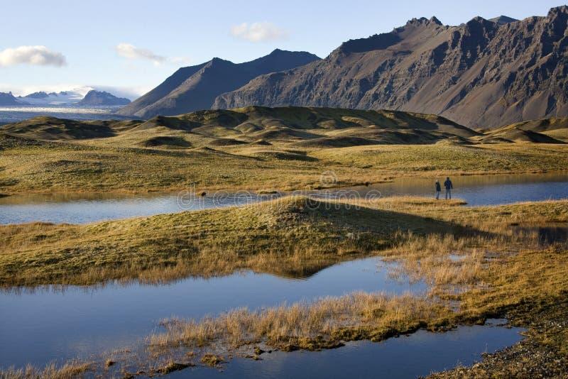 ландшафт Исландии hofn ближайше стоковое фото rf