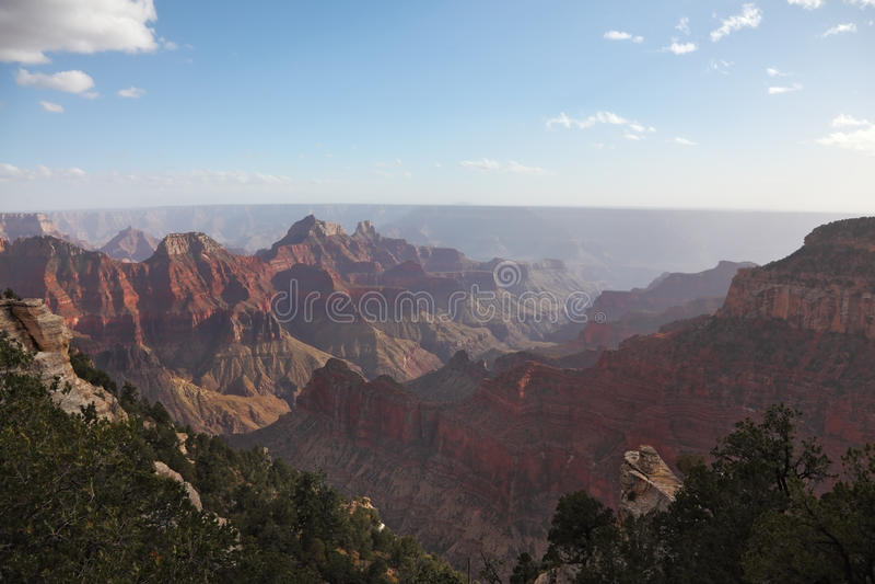 ландшафт каньона грандиозный более обширный стоковая фотография