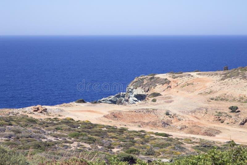 Ландшафт Крита стоковые фото