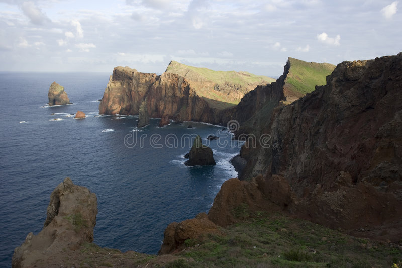 ландшафт Мадейра стоковое фото