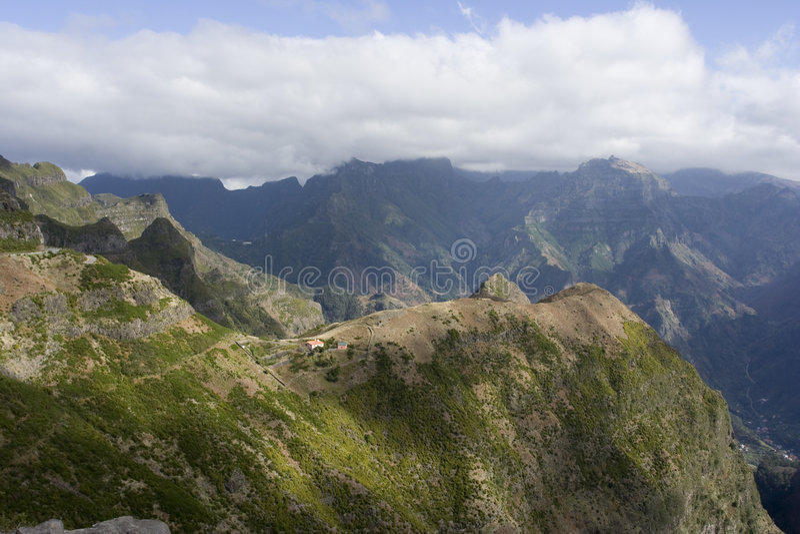 ландшафт Мадейра стоковое фото rf