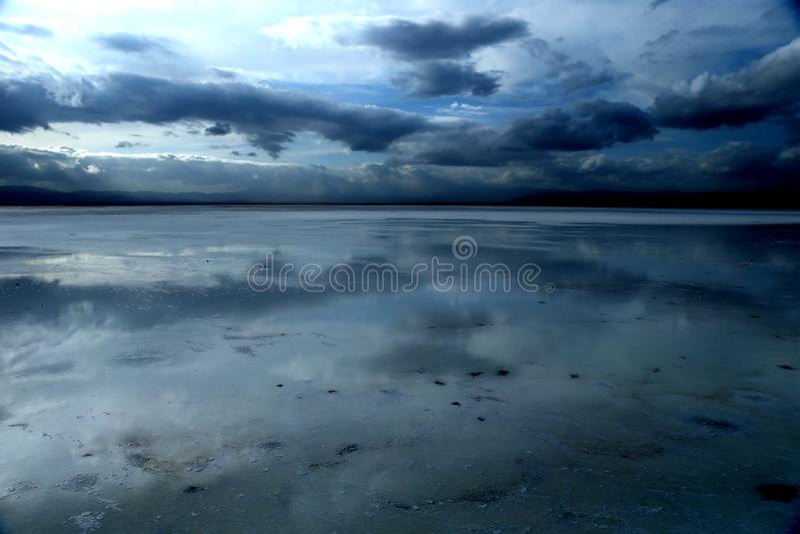 Ландшафт озера сол Chaka стоковое фото