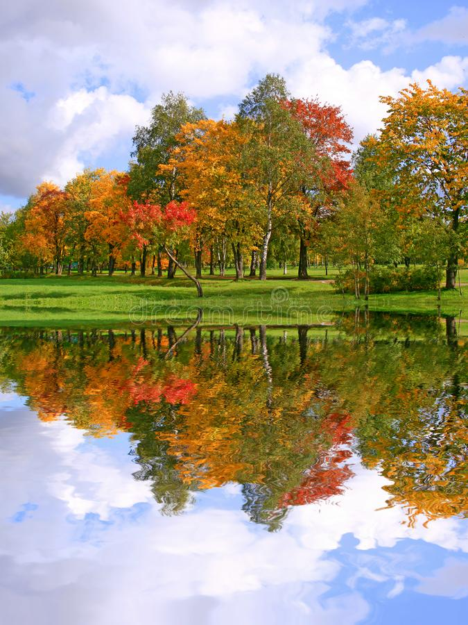 ландшафт осени красивейший