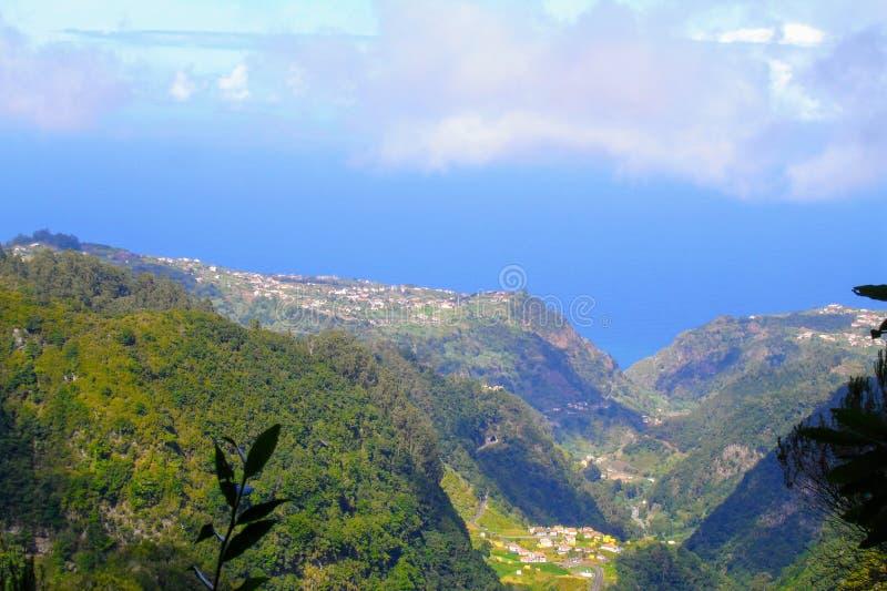 Ландшафт острова Мадейры стоковое изображение