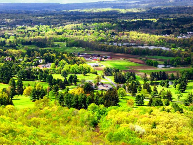 Ландшафт от горы Talcott стоковые изображения rf