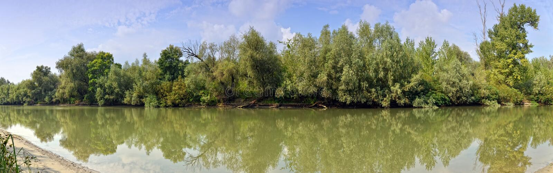 Ландшафт перепада Дуны стоковая фотография rf