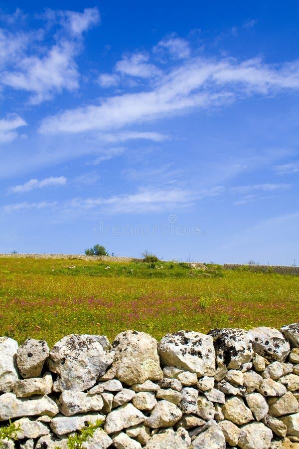 ландшафт присицилийский стоковые изображения rf