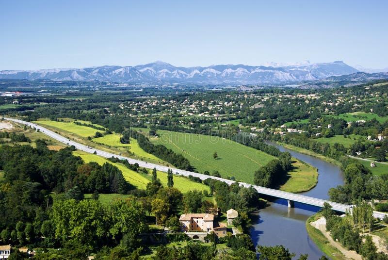ландшафт Провансаль стоковое изображение