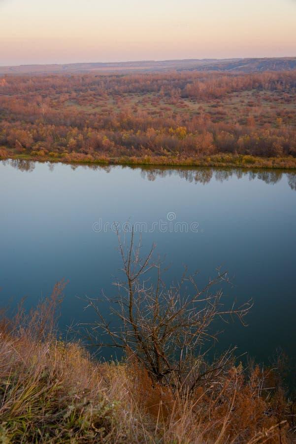 Ландшафт реки 'Дон' стоковые фото