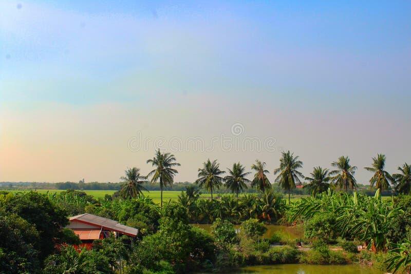 Ландшафт ремня Ang, Таиланда стоковое изображение