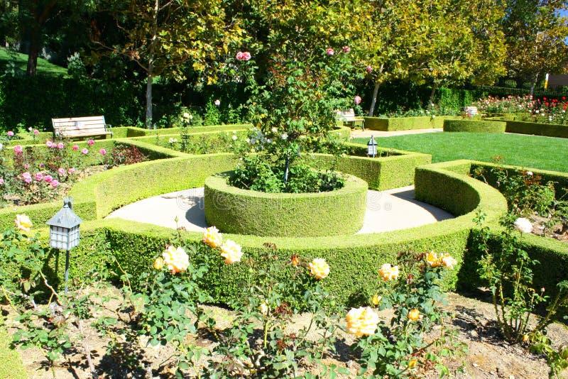ландшафт сада стоковые изображения