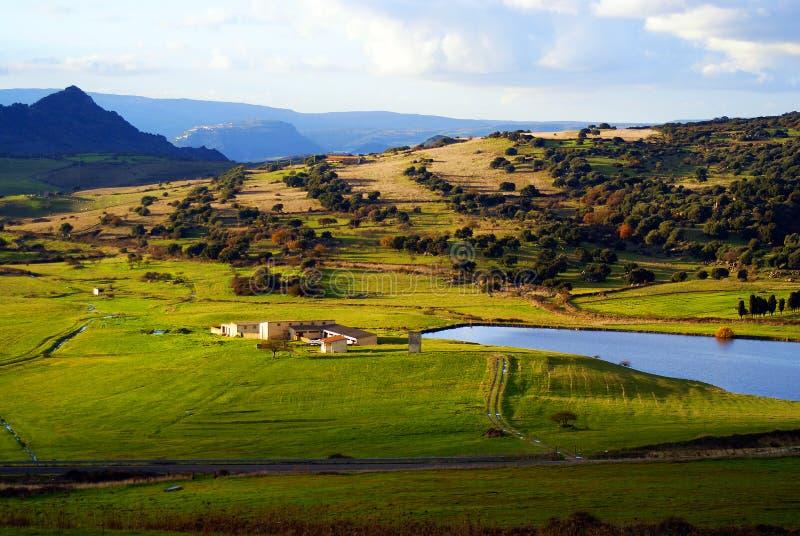 ландшафт Сардиния стоковая фотография